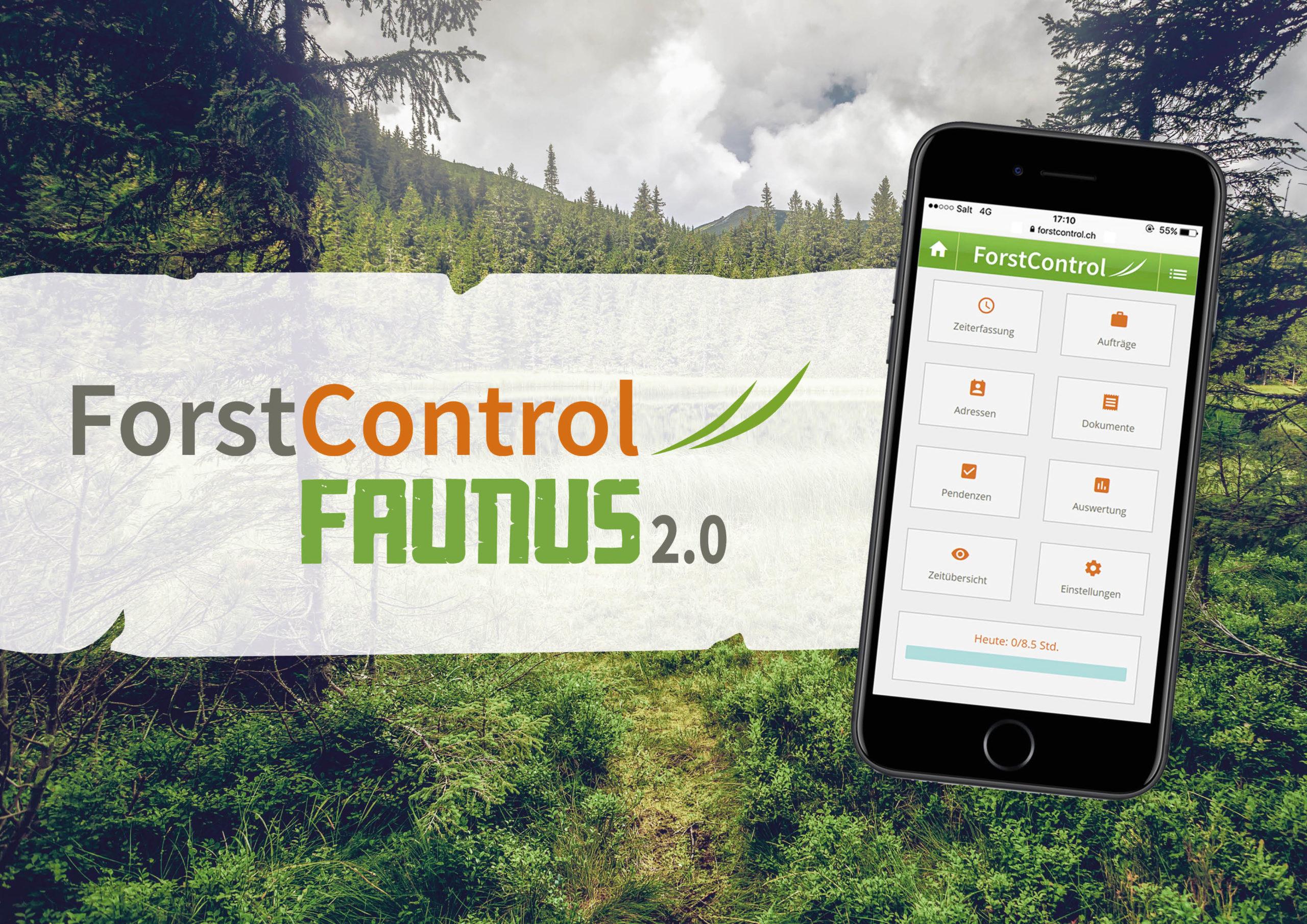 ForstControl die Zeiterfassung für Forstbetriebe und Forstunternehmen